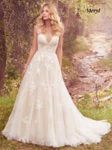 Maggie Sottero Wedding Dress Meryl 7MS339 Main