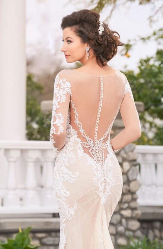 Kitty Chen Couture - Adrianna  Ivory/Nude-