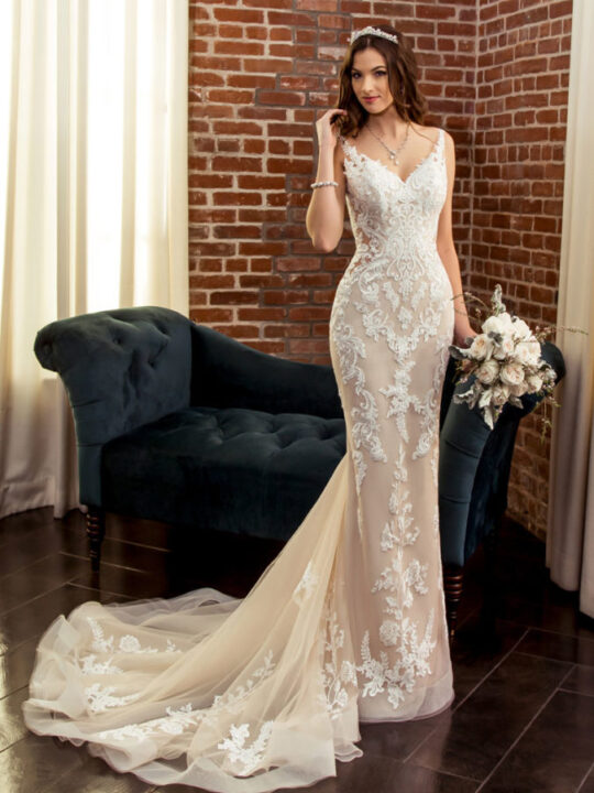 Kitty Chen Couture - Deluxe  Ivory-10