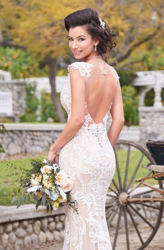 Kitty Chen Couture - Paulina  Ivory-12
