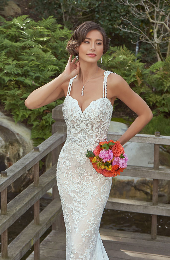 Kitty Chen Couture - Serena  Ivory/Toffee-12
