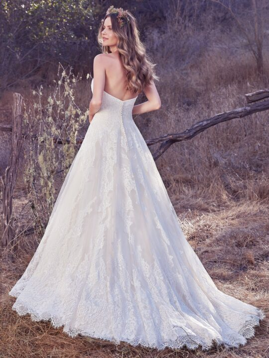 Maggie Sottero - Olea  Antique Ivory-6