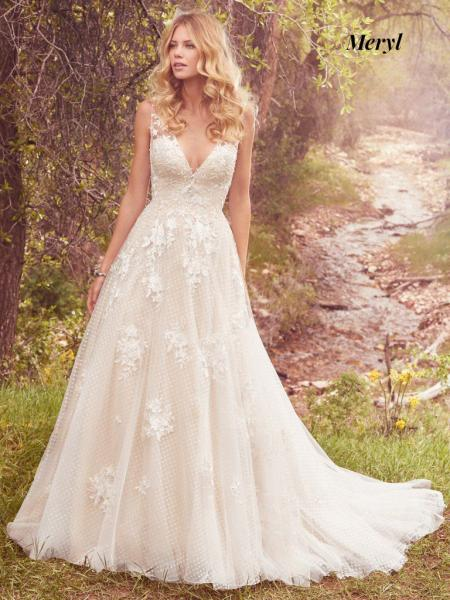 Maggie Sottero Wedding Dress Meryl 7MS339 Main