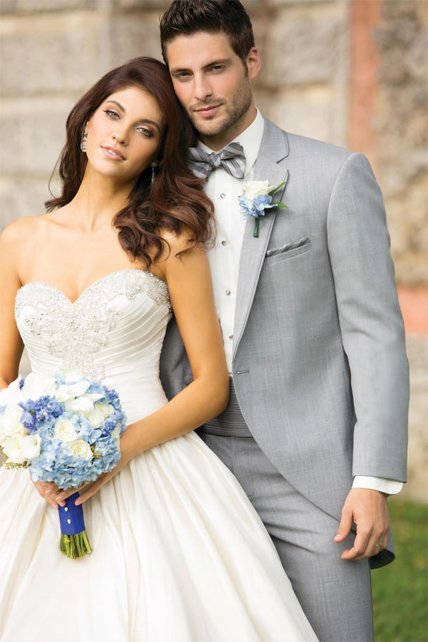 Gray Wedding Tuxedos  Suits  The Knot